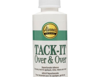 TACK IT Over and Over adhesive 4oz || Adhesive known for the tack it method on tumblers or other items
