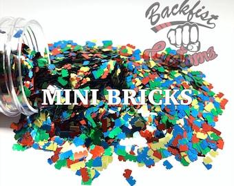 MINI BRICKS || Chunky Building Blocks, Solvent Resistant