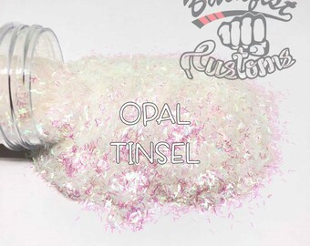 OPAL TINSEL    Tinsel Glitter, Solvent Resistant