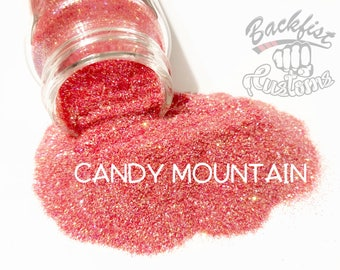 CANDY MOUNTAIN     Transparent Fine Glitter, Solvent Resistant