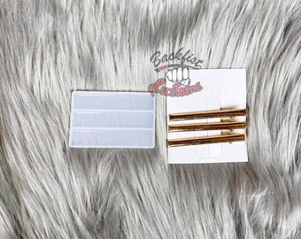 HAIR PIN 3  mold 2.5in     3 Silicone mold and 3 Hair pin set