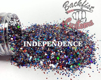 INDEPENDENCE ||  Red, White, and Blue Chunky Mix