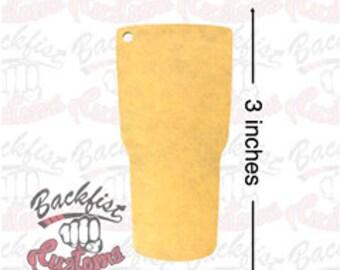3 inch Acrylic Blanks TUMBLER set of 50, or 100