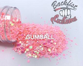 GUMBALL DOTS    Multi Shaped  Glitter Dots