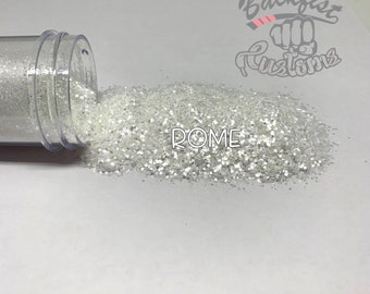 ROME    (White Chunky Mix) Vacation Series Glitter