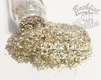 BLACK HILLS GOLD || Chunky Mix, Solvent Resistant
