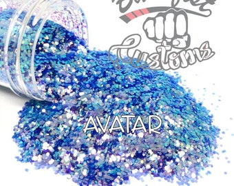 AVATAR || Color Shift  CHUNKY Glitter, Solvent Resistant