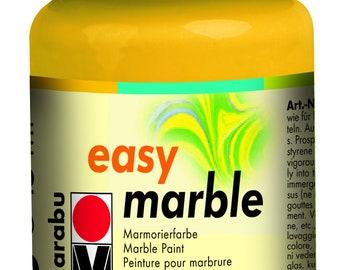 Medium Yellow || MARABU Easy MARBLE PAINT