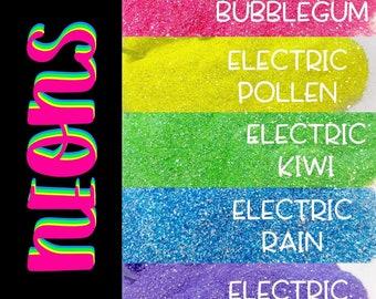 NEON Glitter Package || 5oz Total