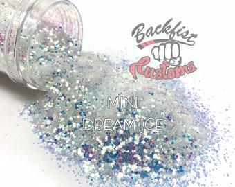 MINI DREAM ICE  || Solvent Resistant, Chunky Mix Glitter