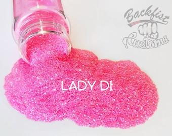 LADY DI    Transparent Fine Glitter, Solvent Resistant