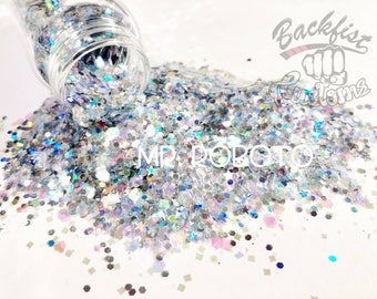 MR ROBOTO || Transparent Chunky Mix, Solvent Resistant