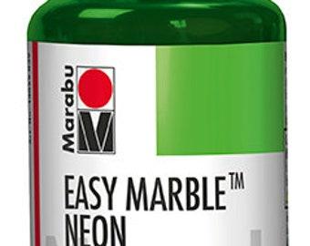 365 Neon Green || MARABU Easy MARBLE PAINT