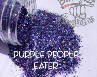 PURPLE PEOPLE EATER || Chunky Mix, Solvent Resistant