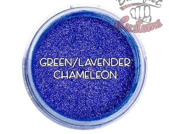 Green/Lavender Chameleon Mica Powder  || 5 gram by weight