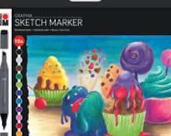SUGARHOLIC  Sketch Markers ||