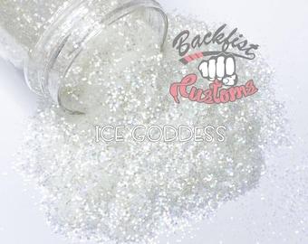 ICE GODDESS   Chunky Glitter, Solvent Resistant