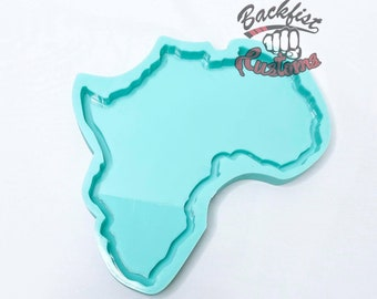CUSTOM MEDIUM AFRICA Tray 7in x 8in || Made to Order