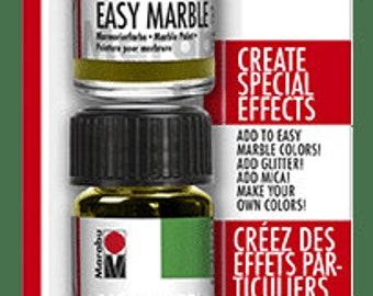 CRYSTAL CLEAR TRIAL Set || Marabu Easy Marble
