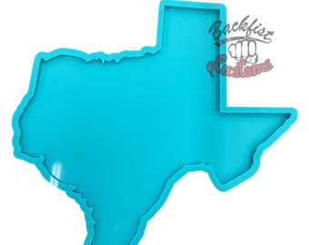 CUSTOM Super Large Texas Mold 1/2in thick 22in x 22in x .5in || Makes 1/2in Texas Mold