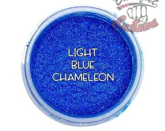 Light Blue Chameleon Mica Powder  || 5 gram by weight