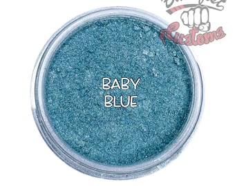 Baby Blue Mica Powder  || 5 gram by weight