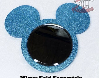 CUSTOM Mouse Head Mirror Mold 9.5in x 8in uses 5in mirrors ( Mirrors Sold Separately )