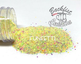 Funfetti || Chunky Mix, Solvent Resistant