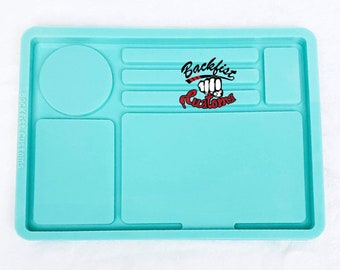 CUSTOM SECTIONAL ROLLING / Makeup Tray mold || 10in x 7in