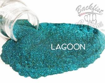 LAGOON    Opaque Micro Fine Glitter, Solvent Resistant