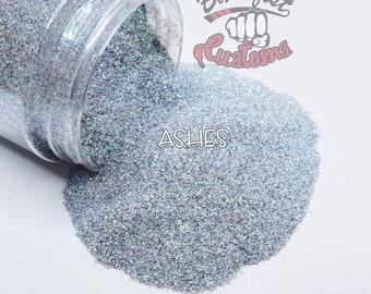 ASHES  || TRANSPARENT Fine Glitter, Solvent Resistant