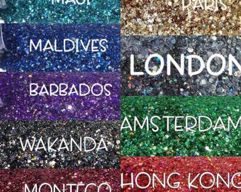 VACATION Series Glitter Package || All Exclusive Glitters