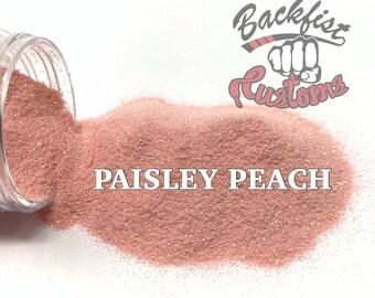 PAISLEY PEACH || Opaque Fine Glitter