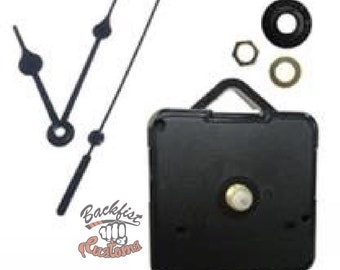 CLOCK HARDWARE ONLY    For use with Clocks made with the silicone molds