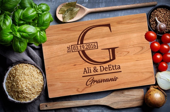 First Home Gift, Our First Home Custom Cutting Board, New Home Gift, Engraved Gifts, Housewarming Gift, Personalized Cutting Board