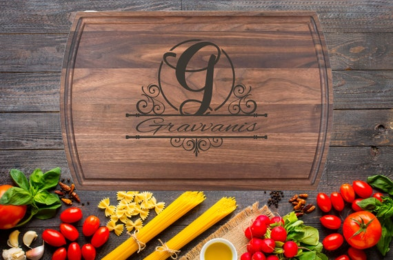 Personalized Cutting Board, Engraved Cutting Board, House Warming Gift, Wedding Gift, Custom Cutting Boards, Wood Tray