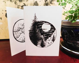 Pine Tree Greeting Card