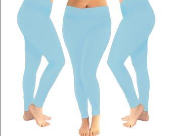 30a0487b2 Light blue leggings