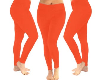 9262765466b9 Orange leggings