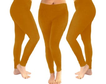 39dcde4a640 Mustard leggings