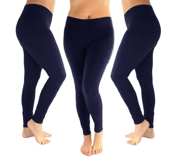 031af3cdf571 Navy leggings navy blue leggings dark blue leggings | Etsy