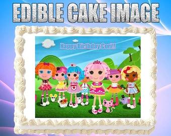 Strange Lalaloopsy Cake Topper Etsy Funny Birthday Cards Online Overcheapnameinfo