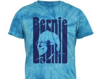 Election Bernie Sanders Hair Minimalist Pop Art Black Soft Baby One Piece