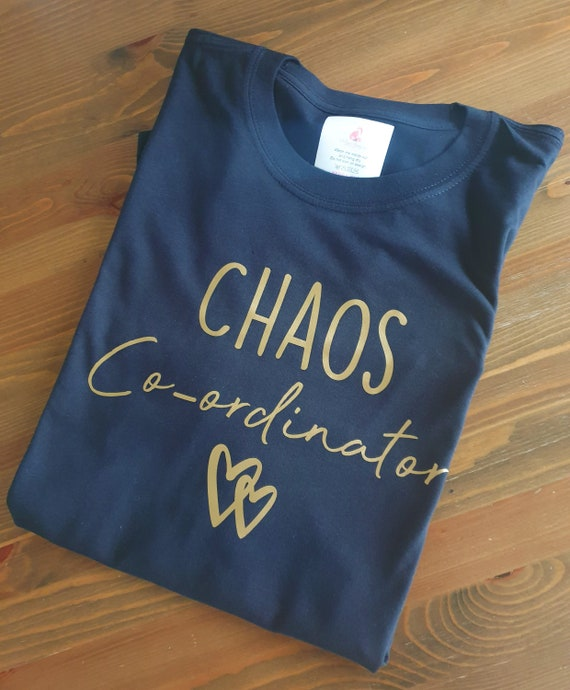 Chaos Koordinator t Shirt, Mama, Mama Leben, Mama t Shirt, Mama Shirt, Mama Geschenk, Mama T shirt, Geschenk für neue Mama,