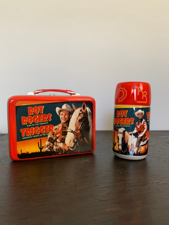 Vintage Roy Rogers and Trigger Salt and Pepper Shakers- Vintage lunch box