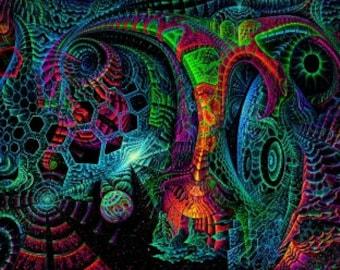 UV Backdrop 'MicroCosm'