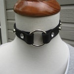 3/4 inch jeweled collar with o-ring center