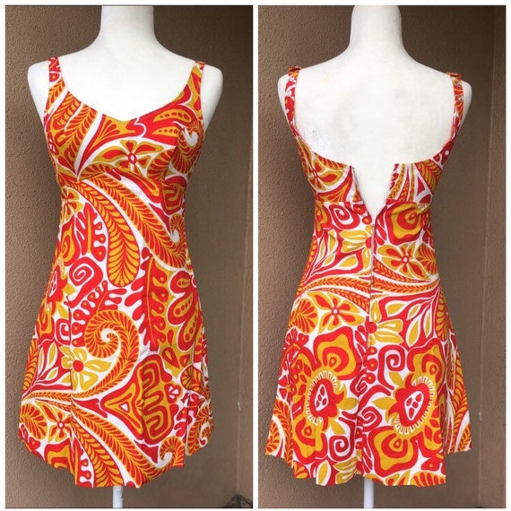 Mod Mini Beach Dress