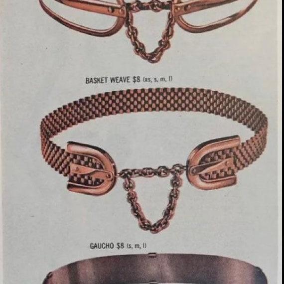 1950s Renoir Copper Belt M - image 1