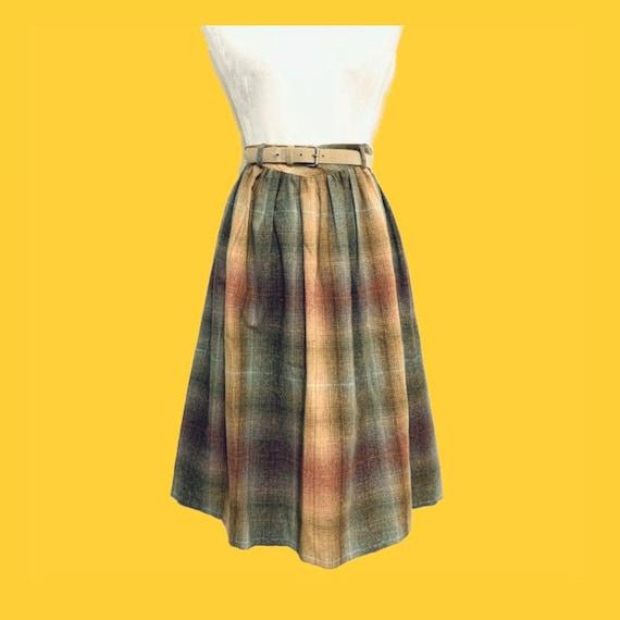 Bobbie Brooks Flannel Skirt